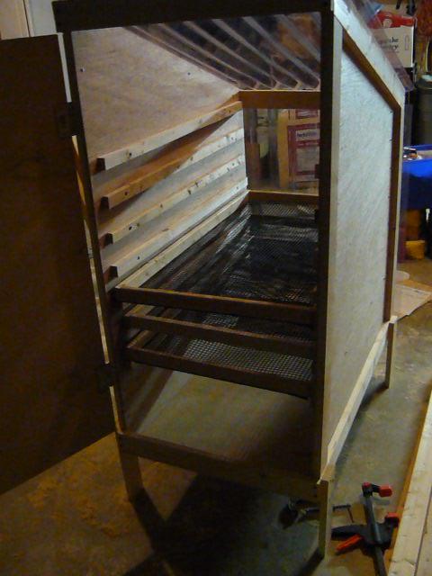 Apple Drying Rack Tower