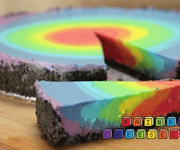 The Rainbow Cheesecake