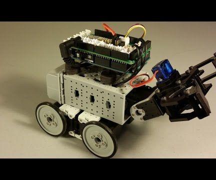 Build an Arduino Gripper Robot With a DynamixShield.