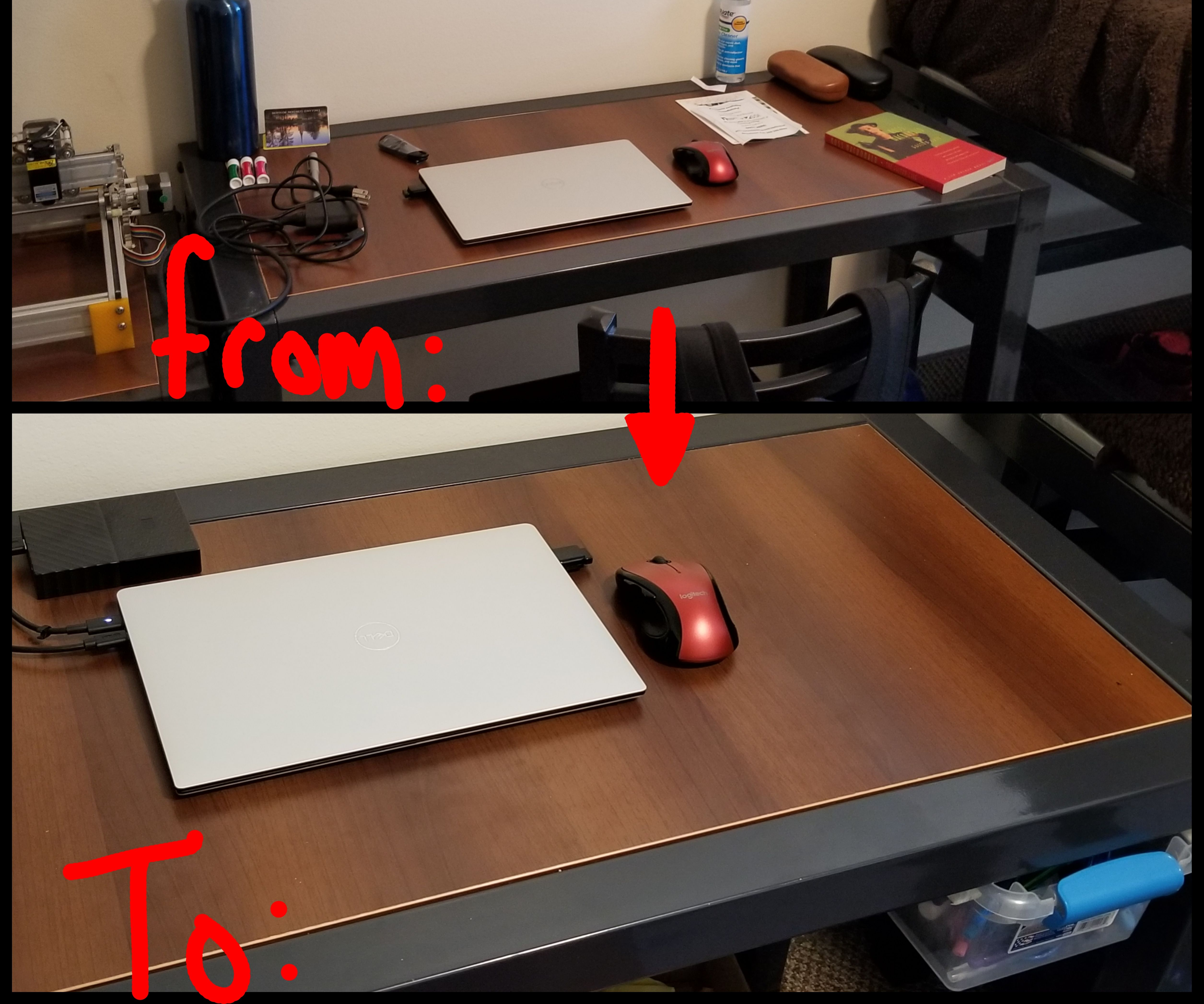 College Hacks:  Desk Drawer