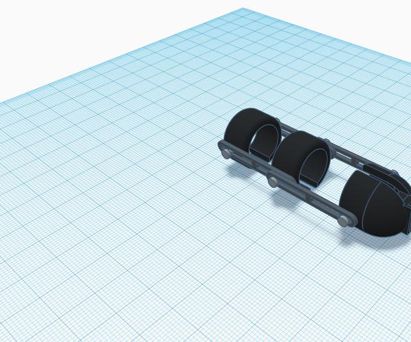 Articulated Modular Finger Gauntlet (Make It Move)