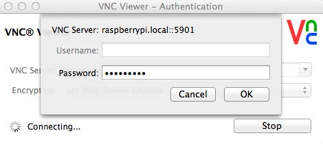 Step 3: Run VNC Viewer-continuation