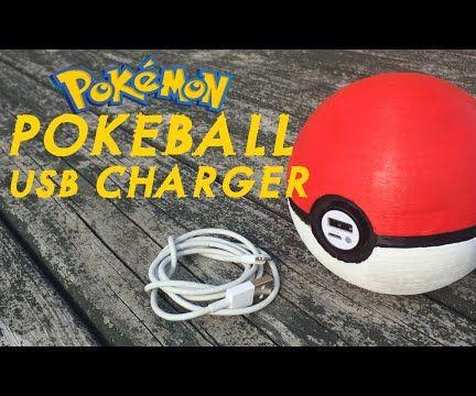Pokeball USB Charger