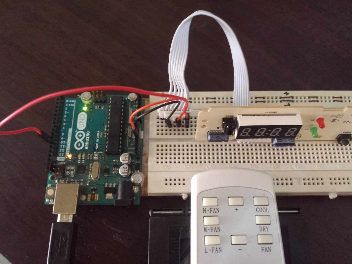 Record the IR Commands Used to Control the Aircon