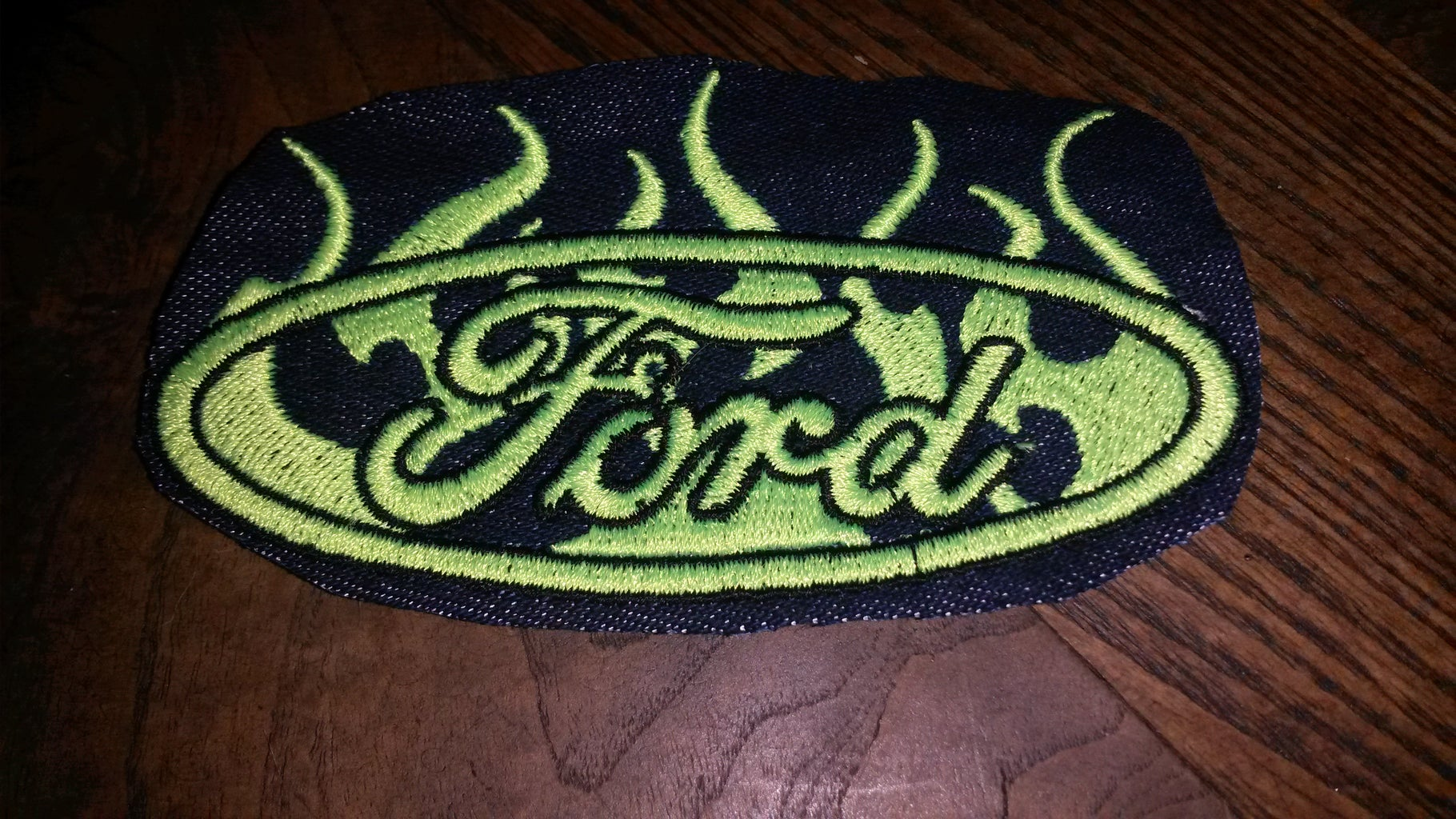 Embordering Jean Patches
