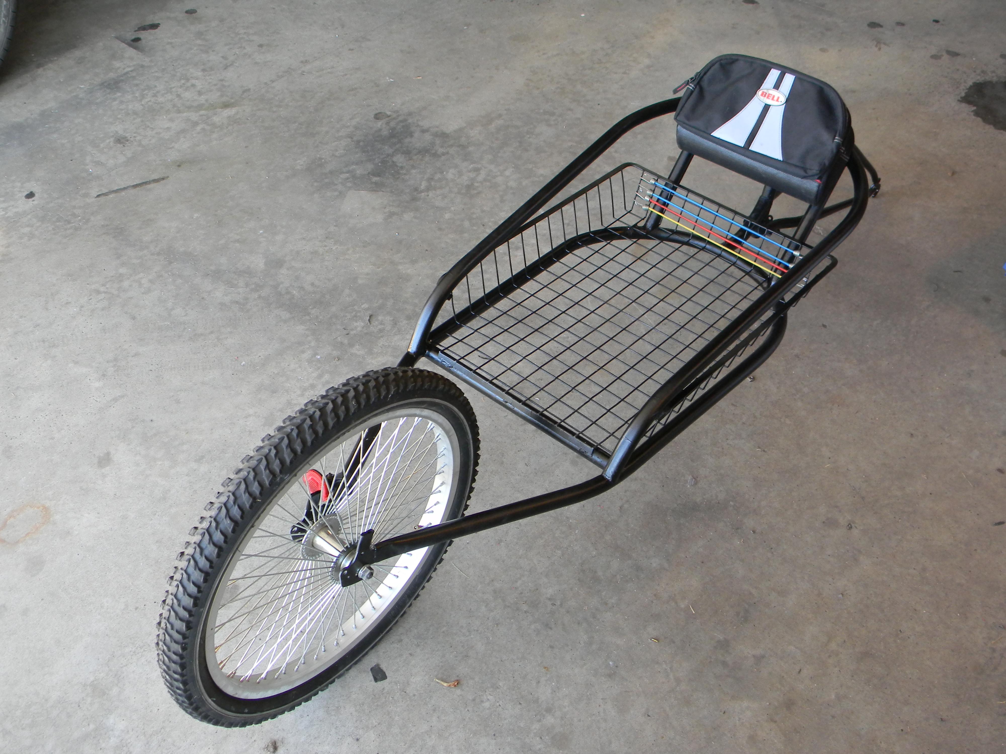 My version of a YAK Bike Trailer