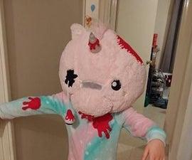 Zombie Unicorn Costume