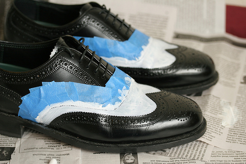 Painting Leather Shoes (or Other