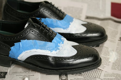 Painting Leather Shoes Or Other Leather Stuff 3 Steps With Pictures Instructables