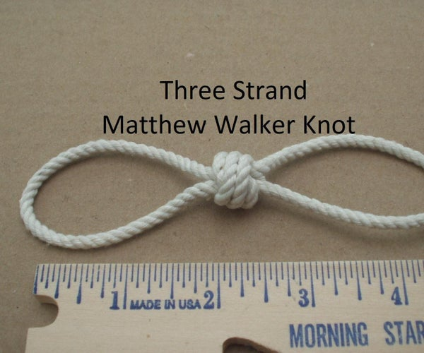 Matthew Walker Knot Lanyard