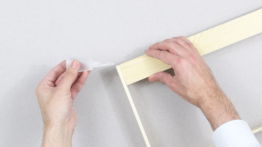 Measure the Back Dowel to Screw Your Hooks.