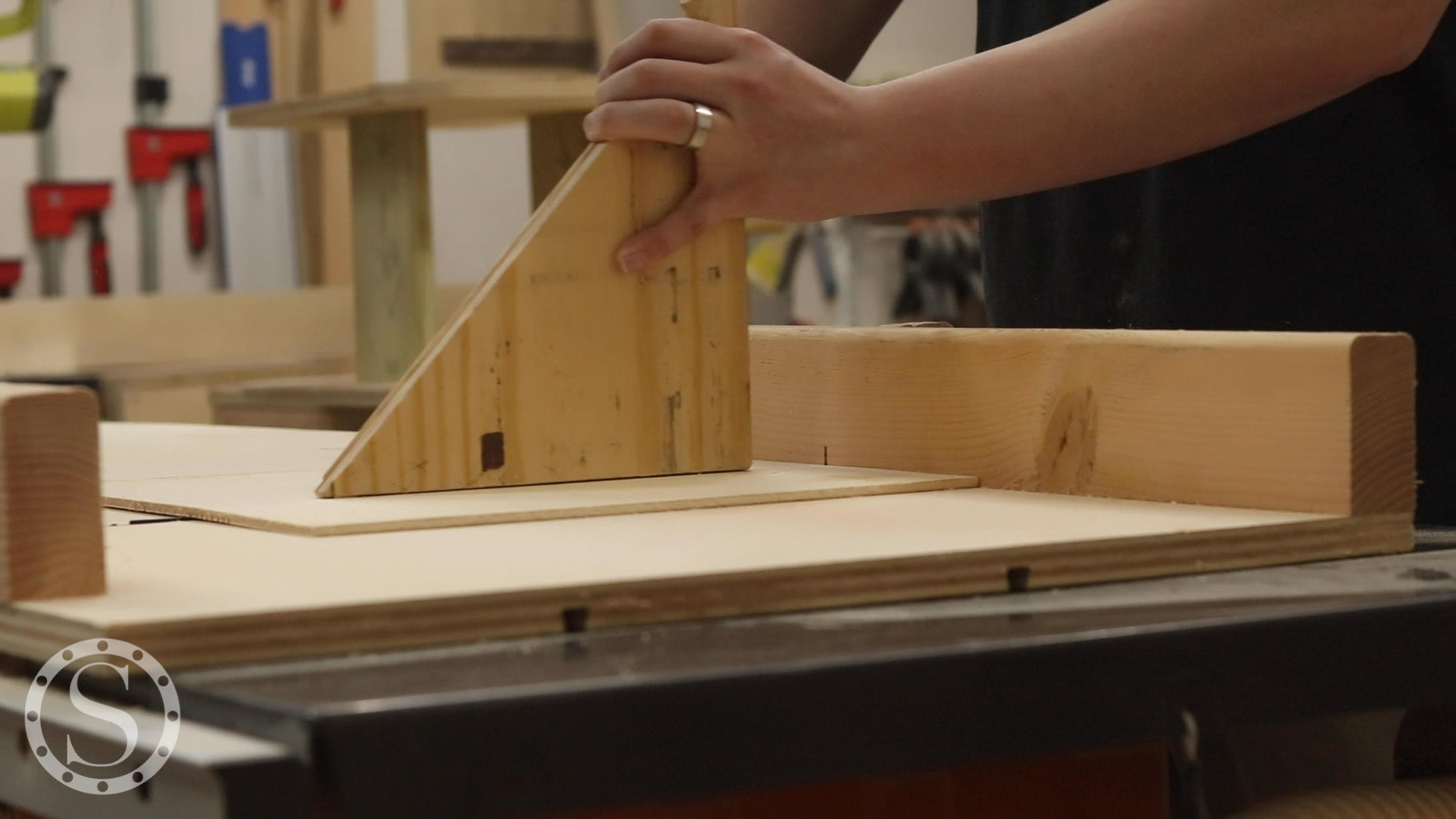 Cut Middle Plywood