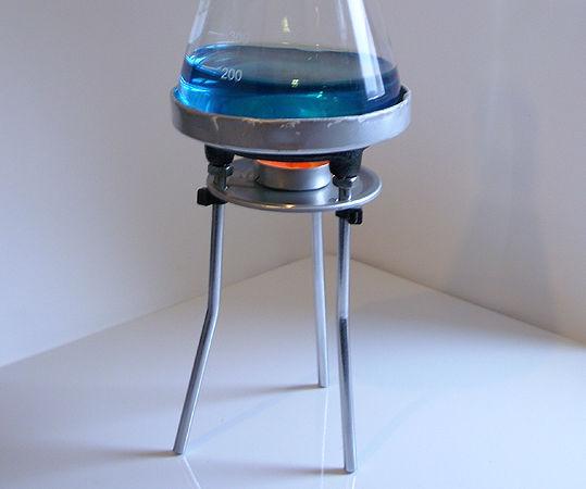 Adjustable Tealight Bunsen Burner Tripod With Optional Flask Holder