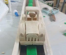 Wooden Maglev Car