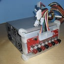 Benchtop Power PCB Holder for ATX PSU - 3D Print