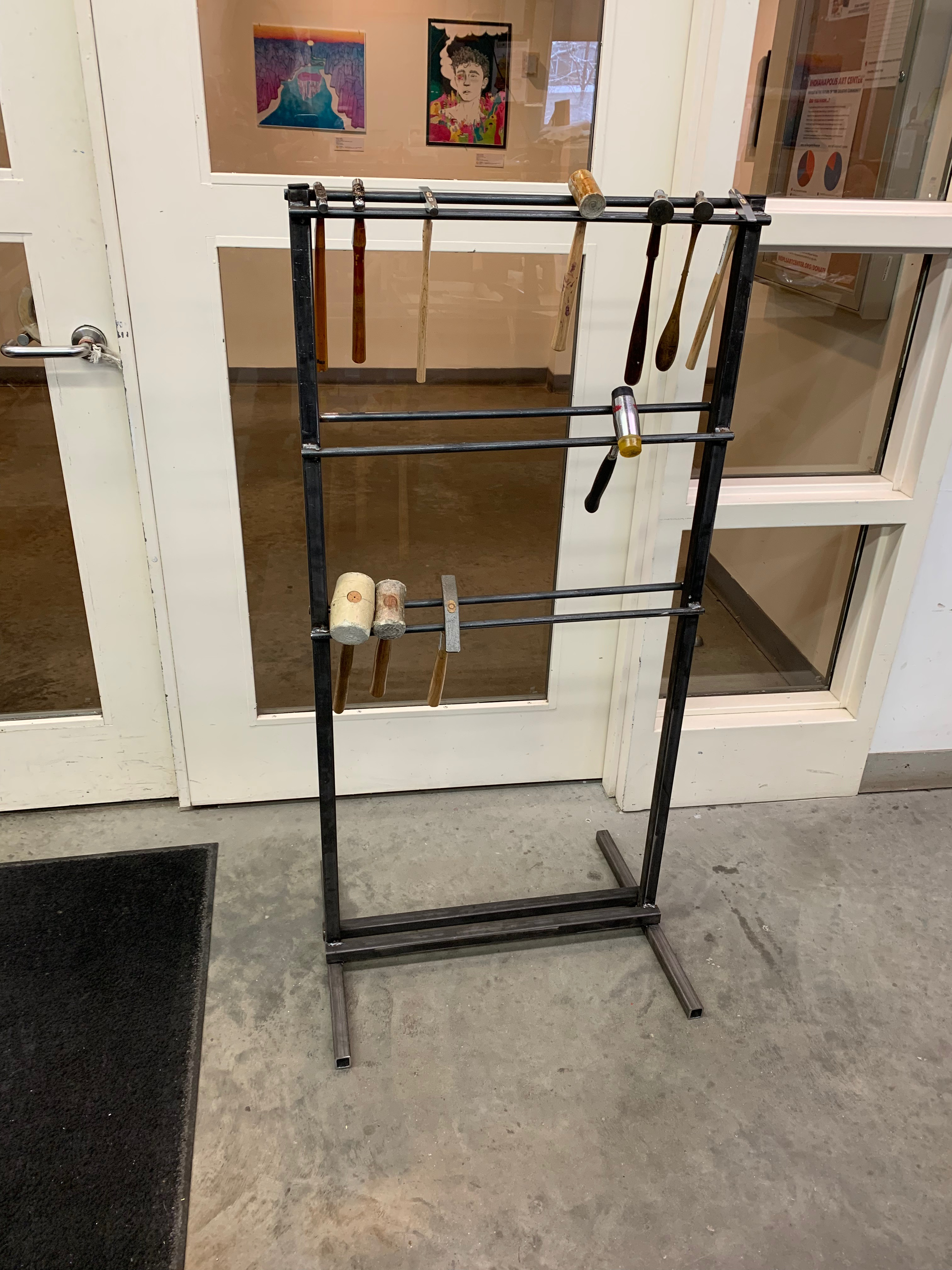 How to Make a Hammer Rack