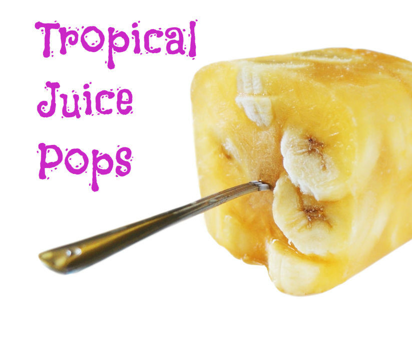 Out-of-the-Ordinary Tropical Juice Pops