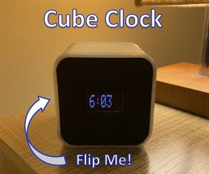 Position Based Multifunction Cube Clock