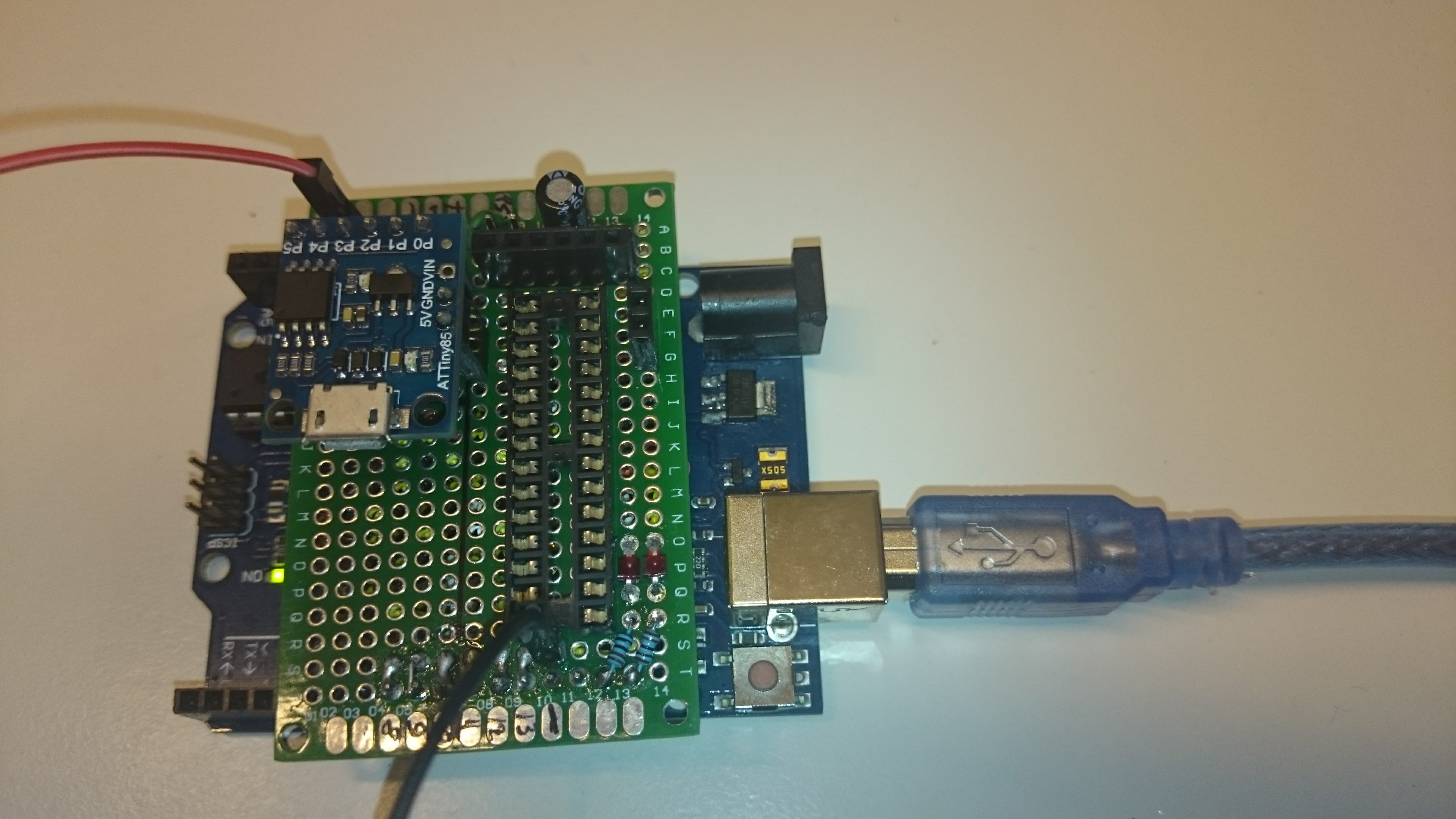 How to unlock Digispark ATtiny85 and convert it to a Trinket
