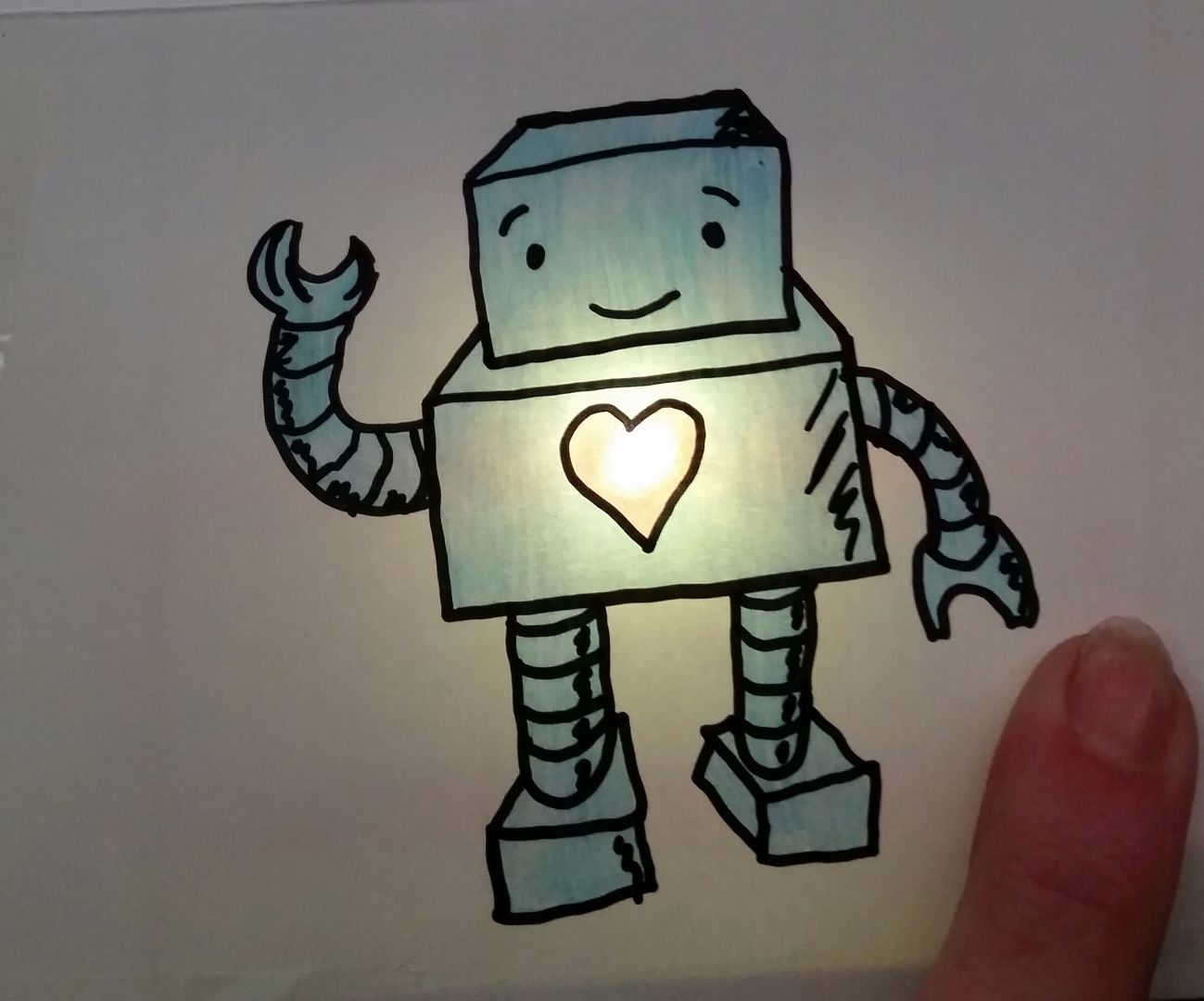 Conductive Greeting Cards
