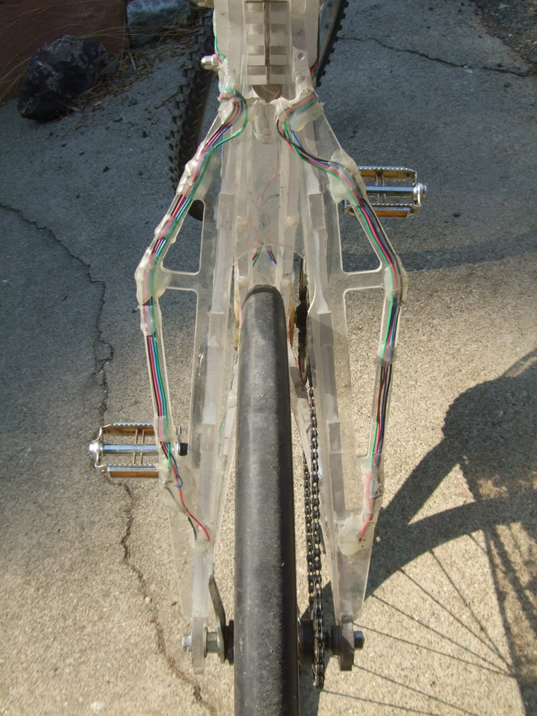 Seat Clamp & Rear Fork & Rear Dropouts