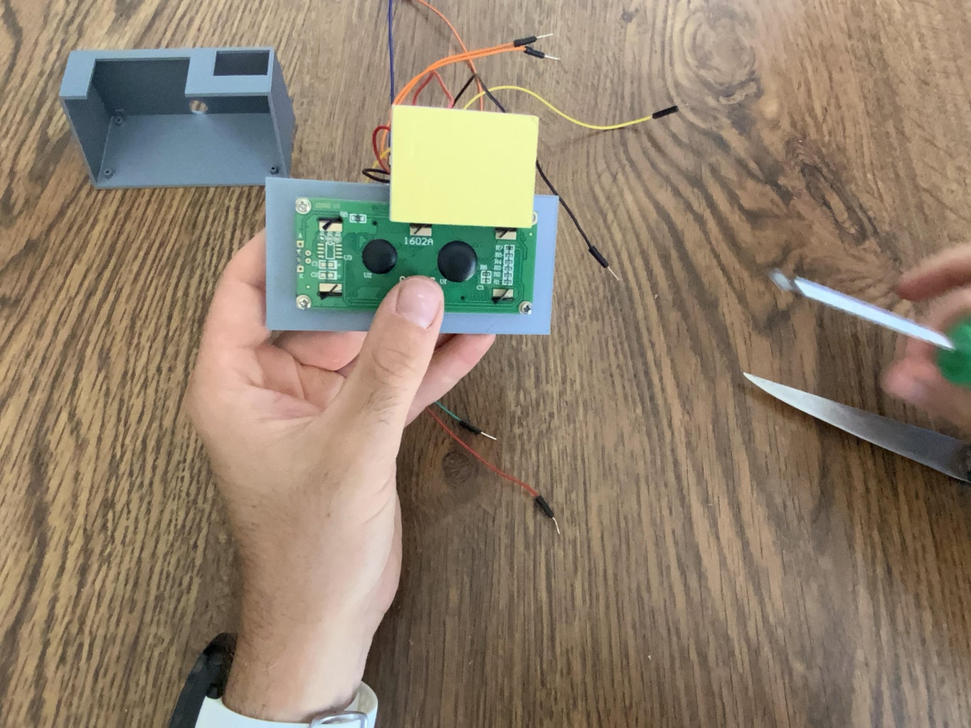Assembling and Connecting the Circuit