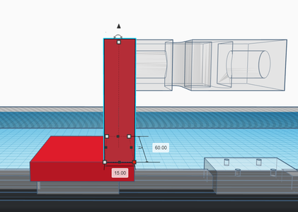 Design Process - Moving Load Cell Mount - Vertical Box