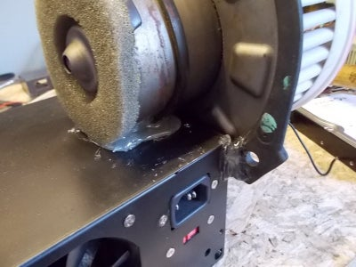 Glue the Blower to the Power Supply