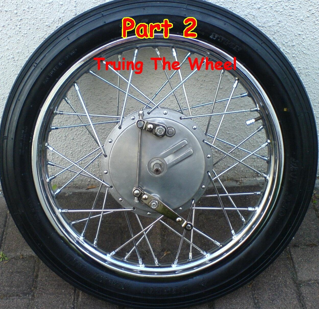 Rebuilding a Spoked Wheel for the Royal Enfield Bullet:Part 2