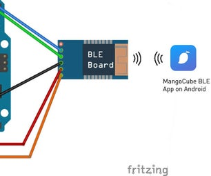 Controlling LED With Android Phone Via BLE (Bluetooth 4.0), MangoCube App and Arduino UNO