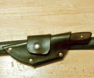 Make a Stitchless Horizontal Carry Sheath...