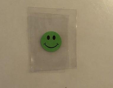 Adhere Sticker to Plastic
