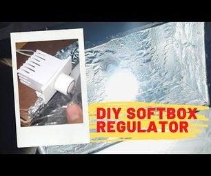 How to Make DIY Softbox With a Regulator