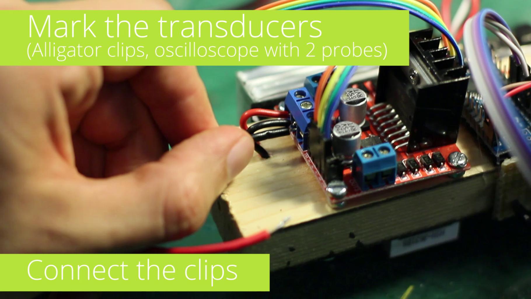 Mark the Transducers (Obsolete Method)
