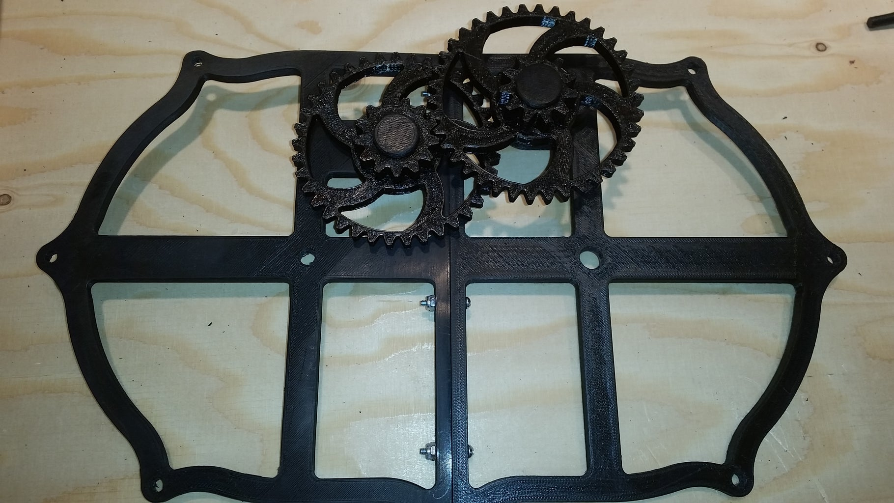 Stacking Gears and Frames- Frame 3 and Saturn Gears