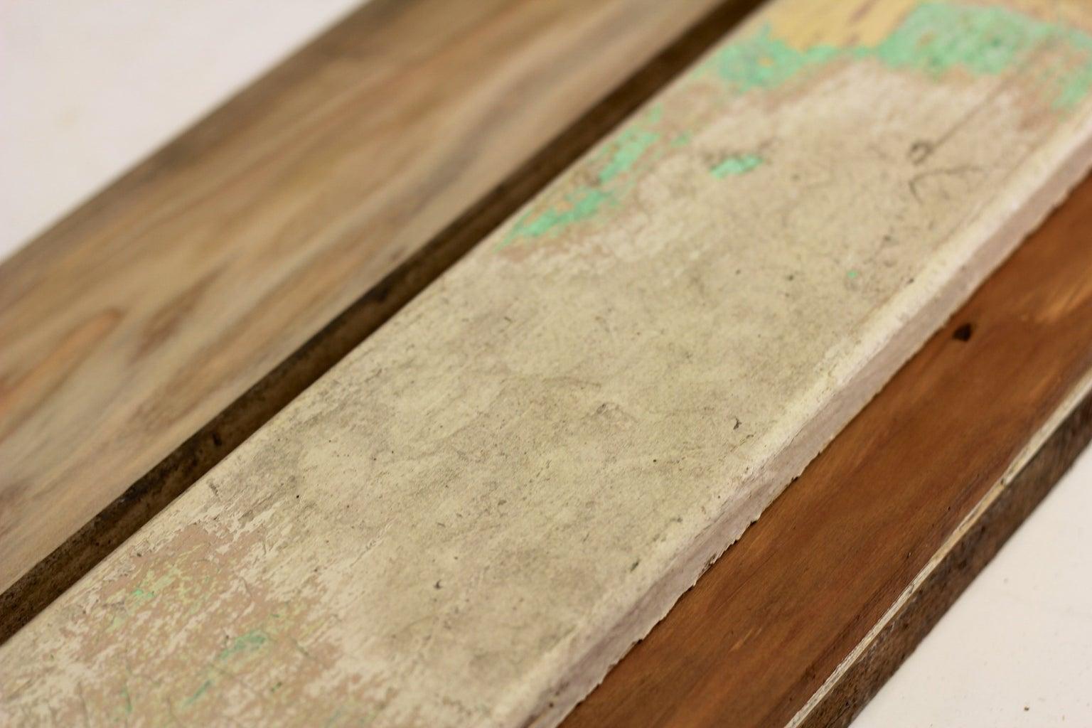 Prepare Scrap Wood