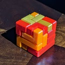 Fun Fully 3D Printable 4x4 Puzzle Cube