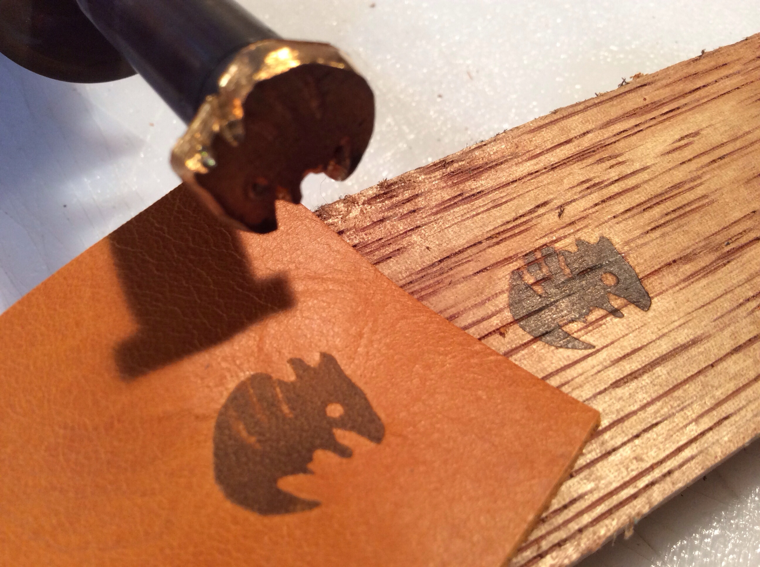 Custom electric branding iron
