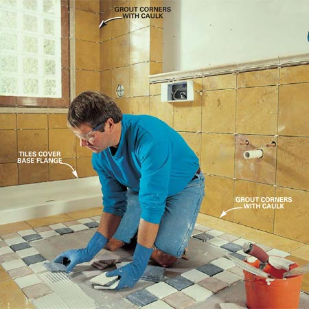 Replacing Tile and Fixtures