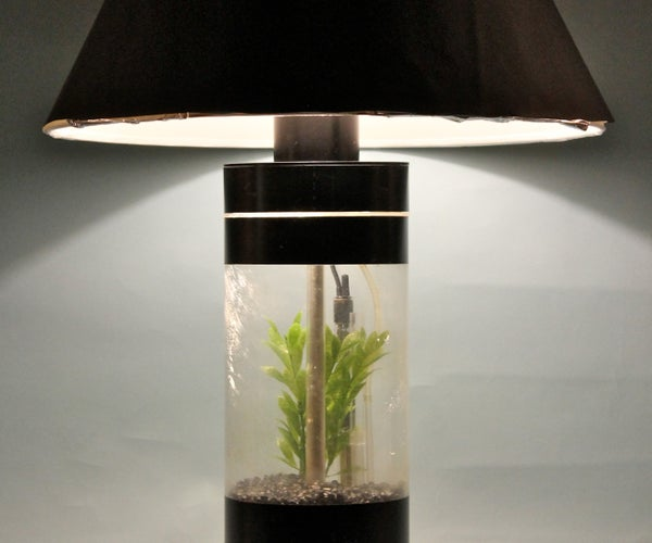 Aquarium Table Lamp