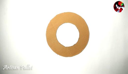 Making the Cardboard Base