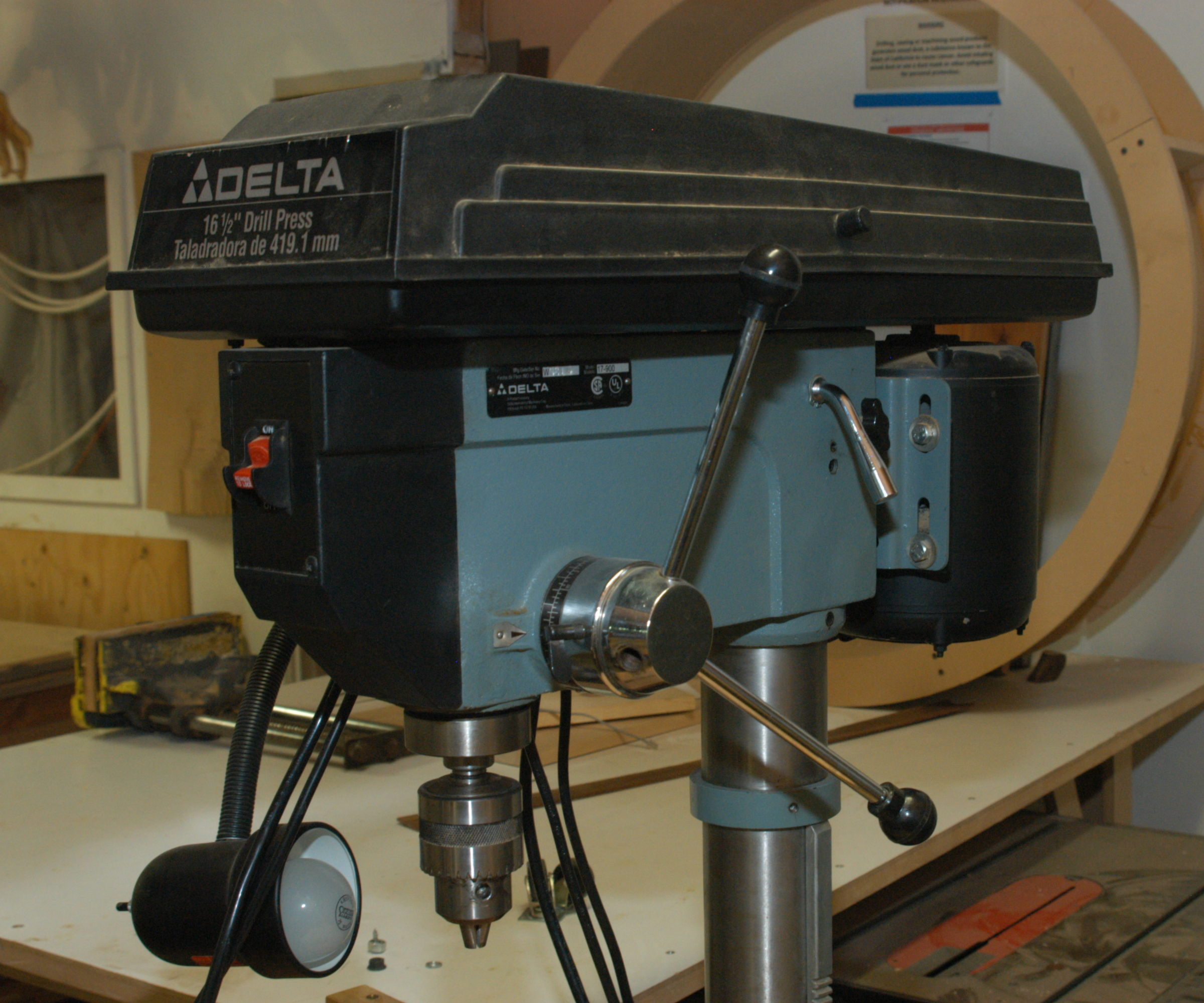 Changing Speeds on the 12 speed Drill Press