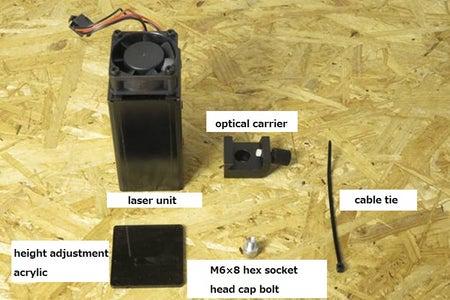 Installation of Laser Unit