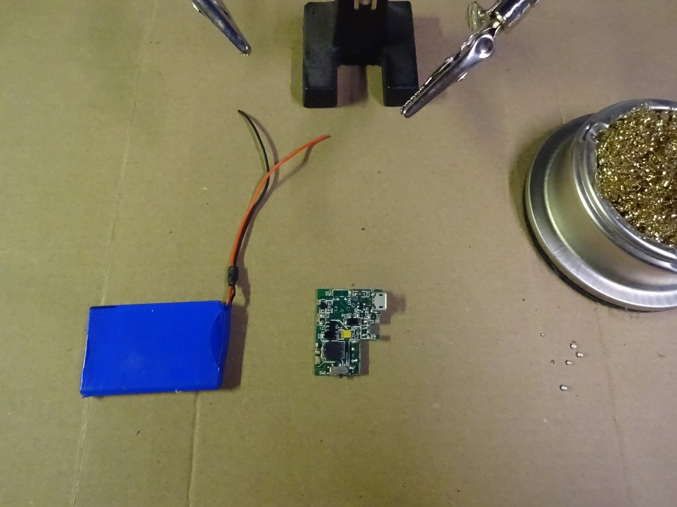 Disassemble the Power Bank