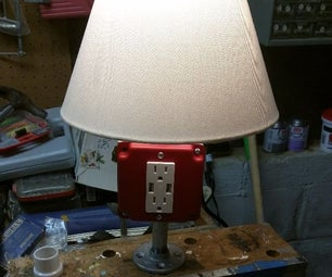 USB Outlet Lamp