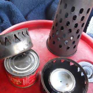 Yet Another Penny Stove- Super Simple Mix