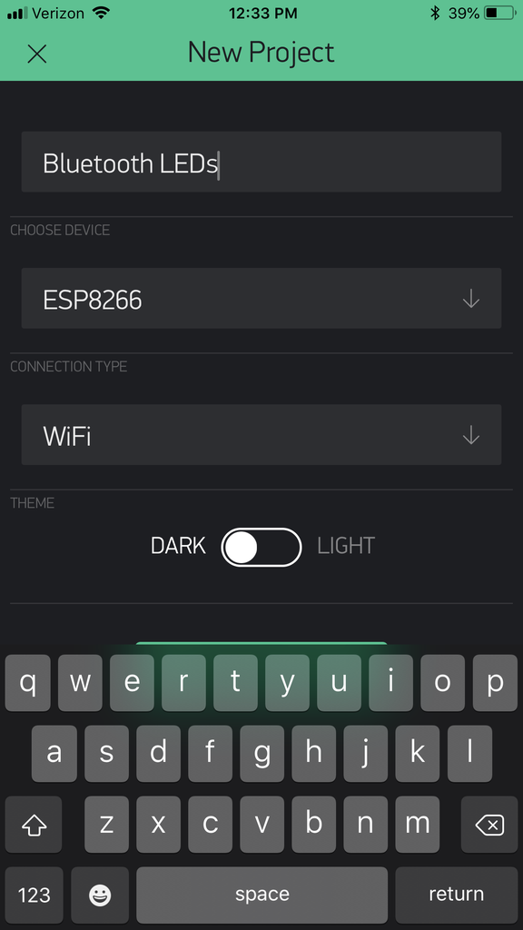 Putting Up Your LEDs and Setting Up BLYNK