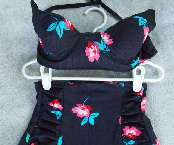 How to Sew a Vintage Style High-Waist Bikini