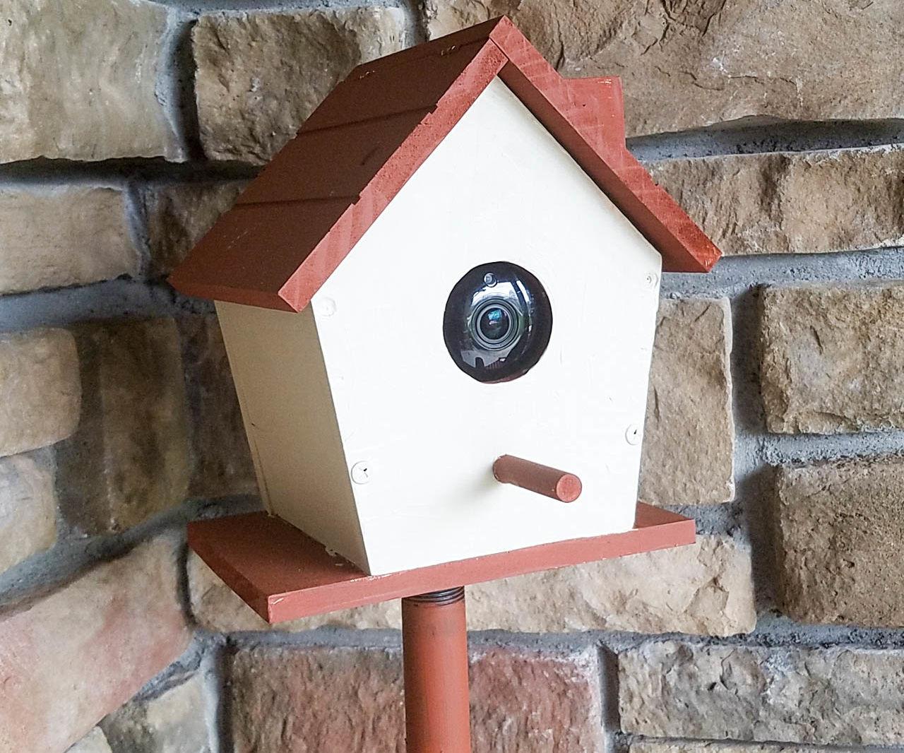 DIY Samsung SmartCam HD Birdhouse Enclosure