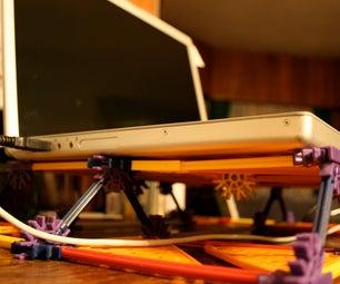 K'nex Laptop Cooling Table
